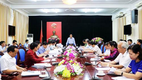 Triển khai kế hoạch cải thiện môi trường kinh doanh, nâng cao năng lực cạnh tranh của tỉnh