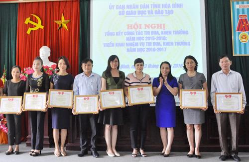 Tổng kết công tác thi đua, khen thưởng năm học 2015 - 2016