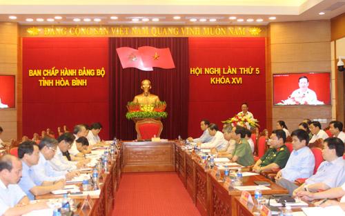 Bế mạc Hội nghị lần thứ 5, Ban chấp hành Đảng bộ tỉnh khóa XVI