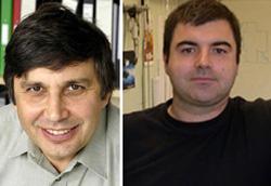 Andre Geim và Konstantin Novoselov