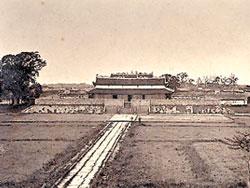 Điện Kính Thiên cuối thế kỷ XIX