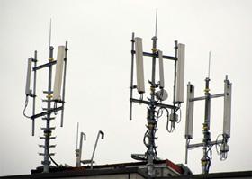 Trạm phát sóng di động.