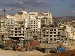 Khu định cư Do Thái được xây dựng tại Bờ Tây, phía tây Jerusalem.