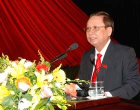 Đồng chí Bùi Văn Tỉnh, Phó Bí thư Tỉnh ủy, Chủ tịch UBND tỉnh.