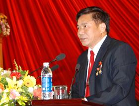 Đồng chí Hoàng Việt Cường,  Bí thư Tỉnh uỷ khoá XIV, Chủ tịch HĐND tỉnh