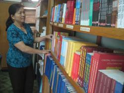 Hệ thống thư viện từ cấp tỉnh đến cơ sở ngày càng đáp ứng được nhu cầu đọc của độc giả