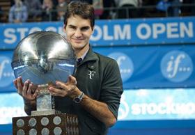 Federer đang cố gắng trở lại ấn tượng