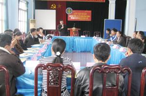 Lớp tập huấn đợt này thu hút 23 học viên đến từ 3 huyện Kỳ Sơn, Lương Sơn và Tân Lạc.