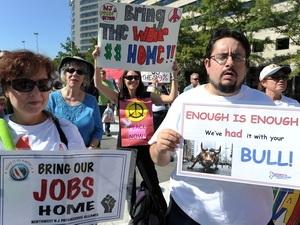 Người dân Mỹ biểu tình hưởng ứng phong trào
