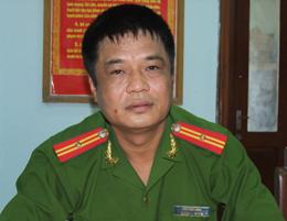 Thiếu tá Đinh Hữu Long.
