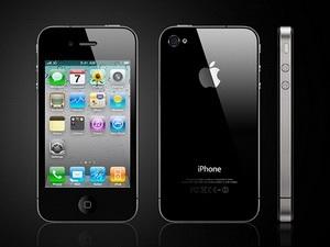 Mẫu điện thoại iPhone 4S.