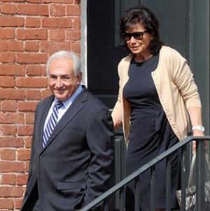 Ông Strauss-Kahn và vợ