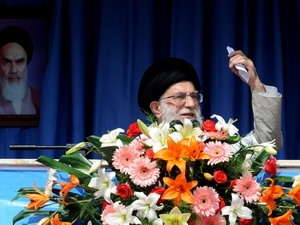 Đại Giáo chủ Iran Ali Khamenei.
