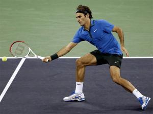 Những tay vợt mạnh như Fed đều có chiến thắng rất dễ dàng
