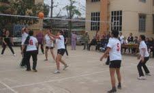 Trận thi đấu giành giải nhất đội bóng chuyền nữ NCT