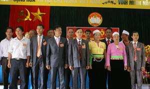BCH MTTQ xã Phú Minh khoá XVI, nhiệm kỳ 2013 – 2018 ra mắt tại Đại Hội.