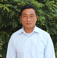 Ông Bùi Thanh Linh, Bí thư Đảng ủy, Chủ tịch HĐND xã Ngổ Luông, huyện Tân Lạc.