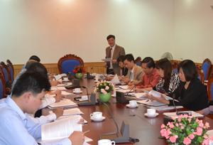 Lãnh đạo Cục Phòng, chống TNXH phát biểu tiếp thu các ý kiến đề xuất, kiến nghị của các thành viên BCĐ tỉnh.