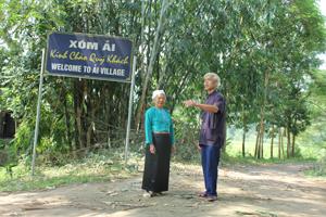 Xóm Ải, xã Phong Phú (Tân Lạc) đang trở thành điểm du lịch cộng đồng độc đáo trên địa bàn tỉnh.