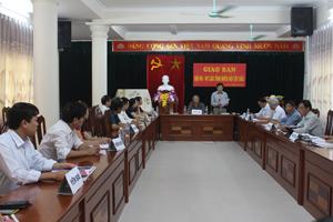 Hội nghị giao ban công tác Hội VHNT các tỉnh miền núi Tây Bắc