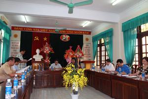 Các ngành thành viên Giải họp bàn chương trình, kế hoạch tổ chức Giải việt dã truyền thống cúp Báo Hoà Bình năm 2014.