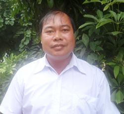 Ông Nguyễn Văn Trinh, trưởng xóm Yên Hòa 1.