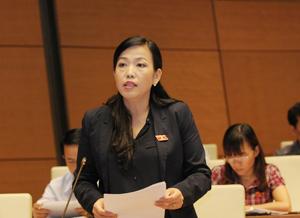 Đại biểu Quốc hội Nguyễn Thanh Hải phát biểu thảo luận tại Hội trường