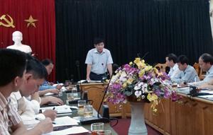 Kiểm tra việc triển khai thực hiện Đề án 61 tại thành phố Hòa Bình