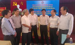 Các đại biểu tham dự hội nghị trao đổi nghiệp vụ.