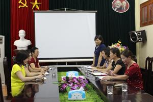 Lãnh đạo Chi cục DS/KHHGĐ thường xuyên tổ chức họp triển khai nhiệm vụ chuyên môn.