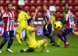 Villarreal chính thức mất vị trí thứ 2 vào tay Barcelona
