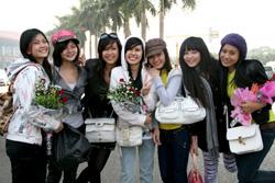 7 thí sinh Miss Teen khu vực miền Nam cũng đã có mặt ở Hà Nội