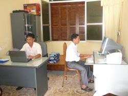 Các phòng ban chuyên môn của huyện Lạc Sơn ứng dụng CNTT vào công tác chuyên môn