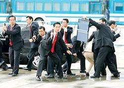 Một buổi tập huấn chống khủng bố của lực lượng an ninh Nhật Bản