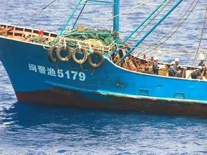Chiếc tàu đánh cá của Trung Quốc.