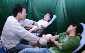 Phong trào hiến máu nhân đạo ở Mai Châu được đông đảo ĐVTN, CNVC, người dân hưởng ứng