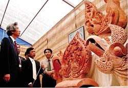 Nhiều di vật quý của Hoành Thành Thăng Long sẽ được trưng bày trong Ngày Di sản văn hoá Việt Nam.