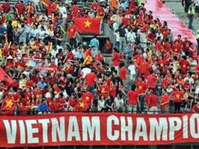 Các cổ động viên nhiệt thành của bóng đá Việt Nam sẽ