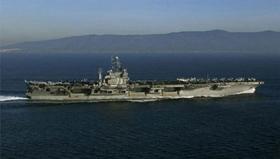 Tàu sân bay USS George Washington sẽ tham gia cuộc tập trận chung Mỹ - Hàn vào chủ nhật tuần này.