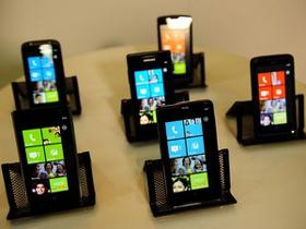 Điện thoại chạy trên nền tảng của WP7. (Nguồn: Getty Images)