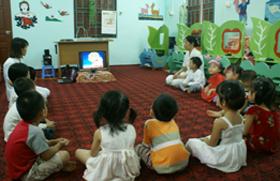 Trường mầm non Hoa Mai (Đà Bắc) chăm lo cho thế hệ trẻ