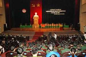 Toàn cảnh lễ kỷ niệm 80 năm ngày thành lập MTDTTN Việt Nam