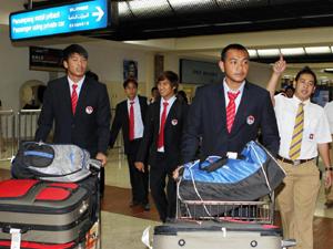 Tối 31.10, đội U23 VN đã đến Indonesia.