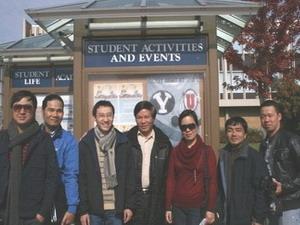 Đoàn nghệ sỹ tại trường Âm nhạc BYU. (Nguồn: baomoi.com)