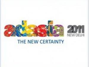 Logo Đại hội quảng cáo châu Á năm 2011 (AdAsia 2011). (Nguồn: Internet)