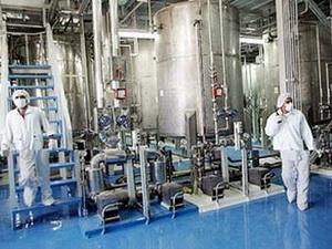 Bên trong một nhà máy hạt nhân của Iran. (Ảnh: Internet)