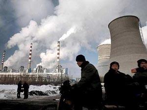 Một nhà máy nhiệt điện ở Trường Xuân, tỉnh Cát Lâm, Trung Quốc.