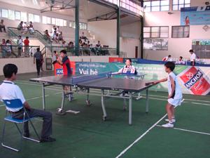 Tại các kỳ HKPĐ cấp huyện, cấp tỉnh, môn bóng bàn luôn tạo được sự hấp dẫn và mối quan tâm, đầu tư của các trường.