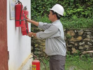 Công ty CP Minh Hoàng trang bị đầy đủ thiết bị PCCC đảm bảo an toàn phòng, chống cháy, nổ.