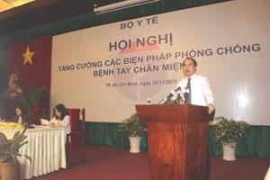 Phó Thủ tướng Nguyễn Thiện Nhân phát biểu chỉ đạo tại Hội nghị.